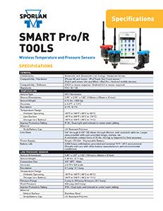 SMART Pro/R Service Tools Specs